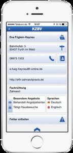 KZBV iPhone